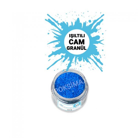 GLASSMAX Mavi Cam Granül 250Gr