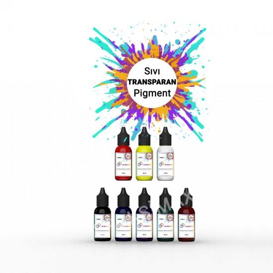 COLORMAX Transparan Sıvı Pigment 8x20 cc