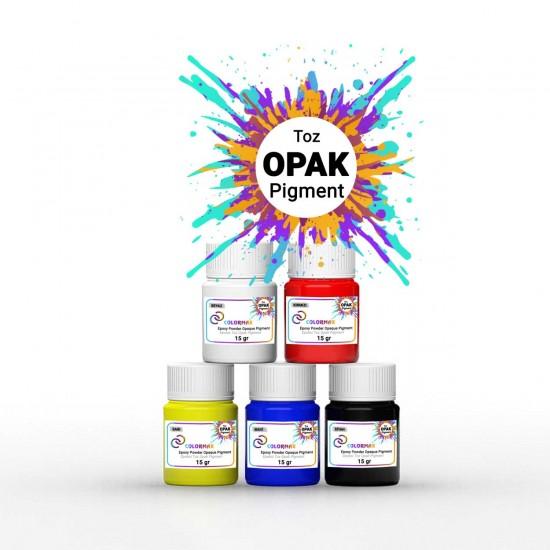 COLORMAX Toz Opak Pigment 5x15 Gr
