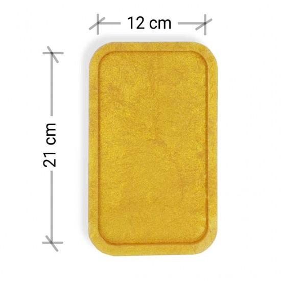 Dikdörtgen Tepsi - Premium Silikon Kalıp 21cmx12cm